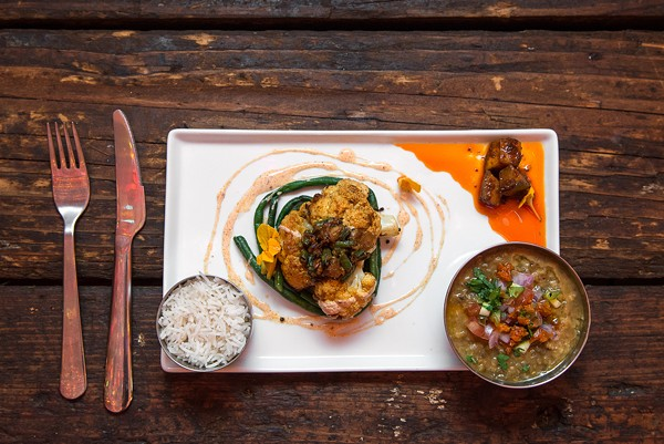 "The dal plate at Mango Pickle is ""an agent of seduction."""