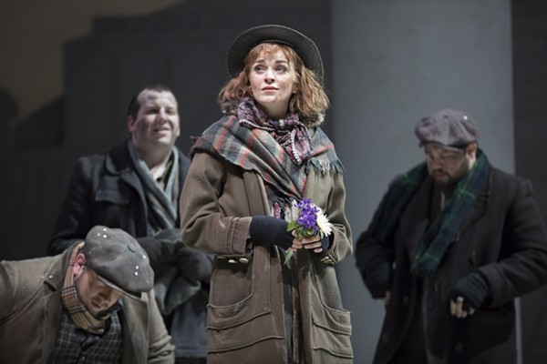 Lisa O'Hare plays Eliza Doolittle in Lyric Opera's My Fair Lady.