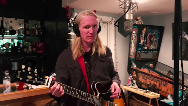 Kenny Childers from Gentleman Caller performs the title track of the song cycle No One's Daughter in a promotional video for the project's Indiegogo campaign.