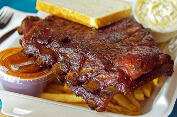 Honey 1 BBQ has ribs that will travel.