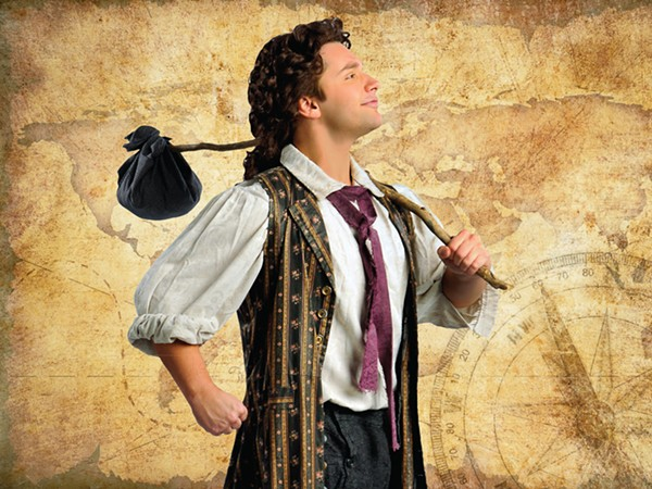 Ben Barker in Music Theater Works' Candide