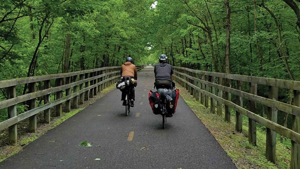 Riding the Oak Savannah Trail to Indiana Dunes National Lakeshore