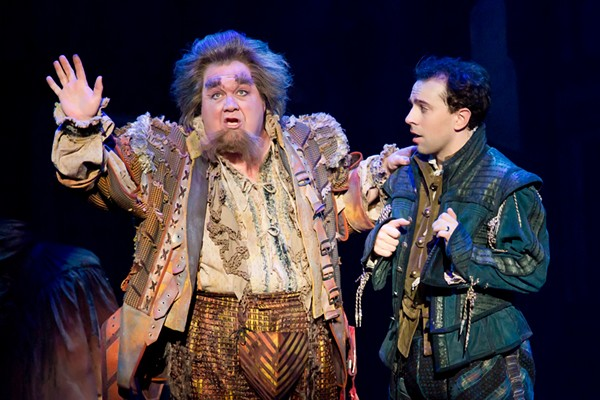 Blake Hammond and Rob McClure in Something Rotten