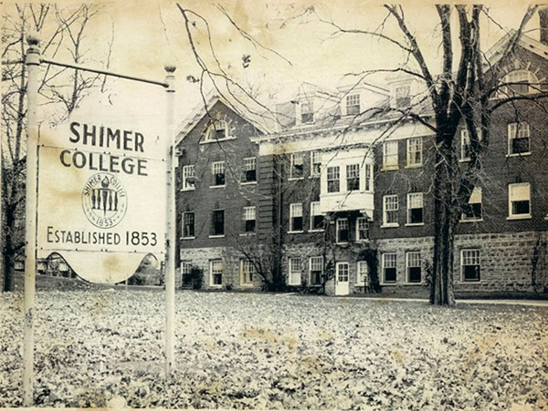 Shimer College when it was based in Mount Carroll, 1973