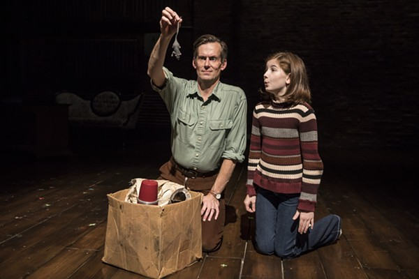 Rob Lindley and Stella Rose Hoyt in Fun Home