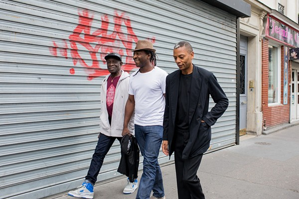 Tony Allen, Jean-Phi Dary, and Jeff Mills