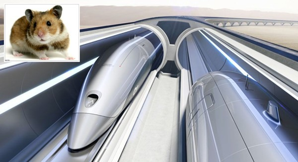 The vacuum-tube technology to transport travelers at 760-mph does not yet exist.