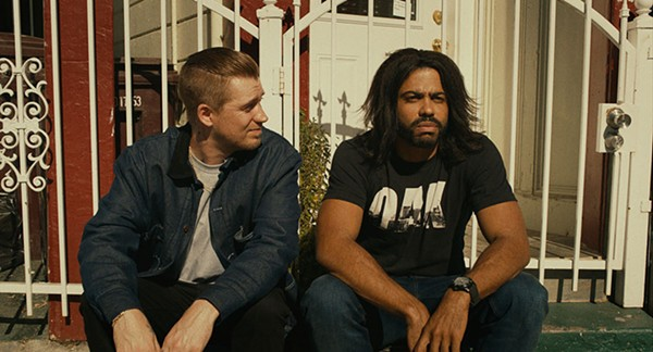 Rafael Casal and Daveed Diggs in Blindspotting