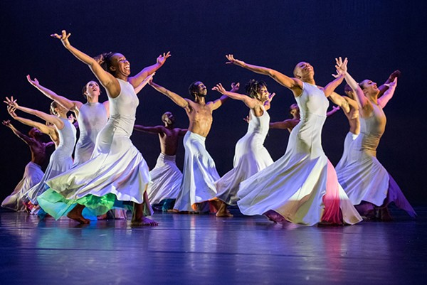 Deeply Rooted Dance Theater will share a bill with Visceral Dance Chicago and visiting group Ate9.