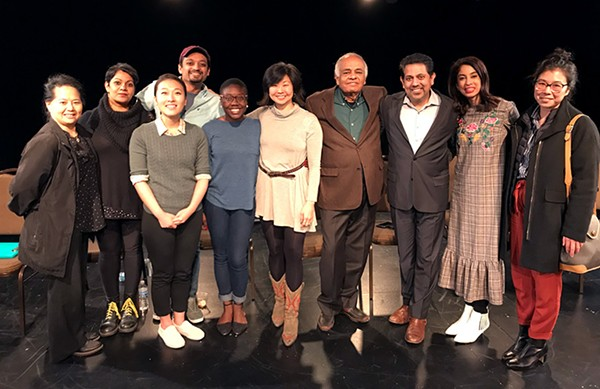 "Cast and crew of ""Our Perspective: Reading Four: First Data Gold"""
