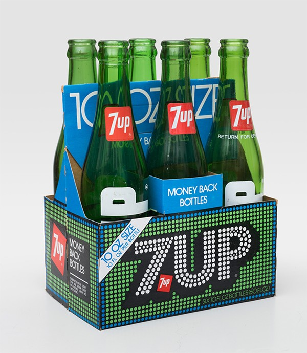 7UP bottles, designed by Thomas Miller