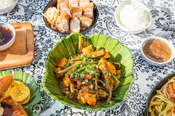 A mix of Filipino and Cuban cuisine at Bayan Ko
