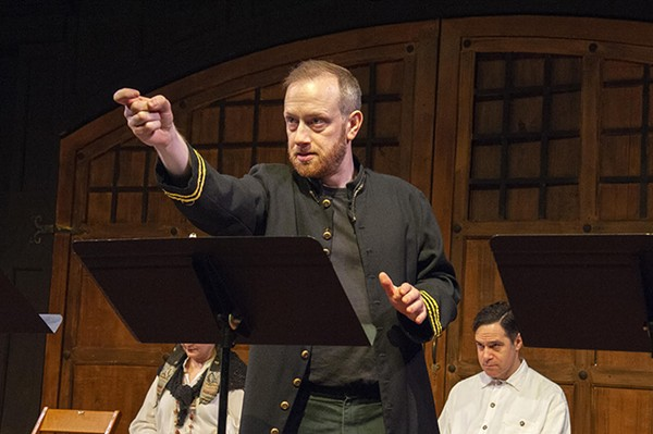 Bryan Wakefield as Bluntschli in Arms and the Man