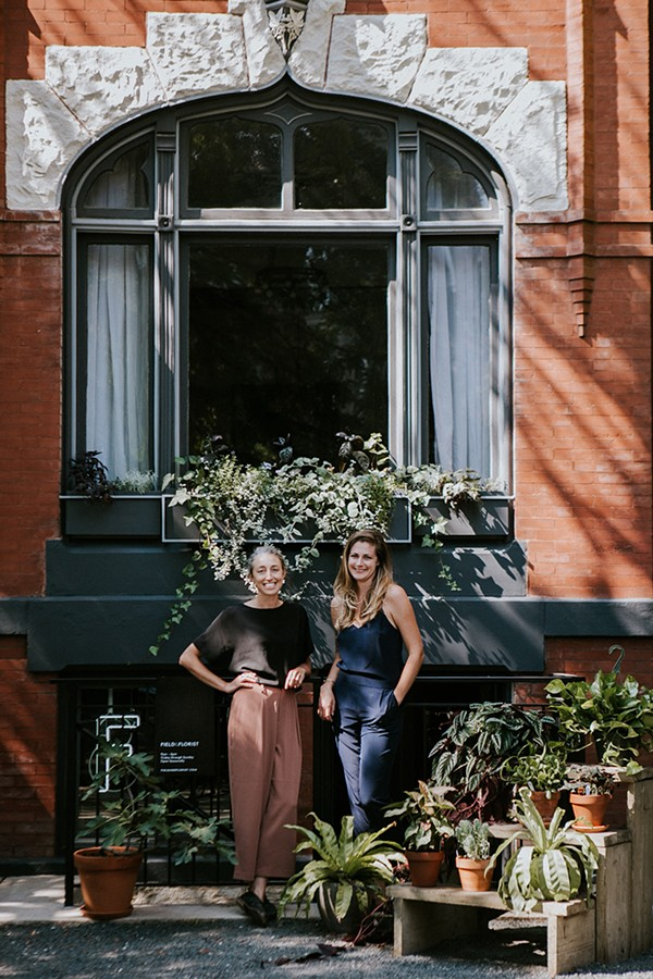 Field & Florist owners Heidi Joynt and Molly Kobelt