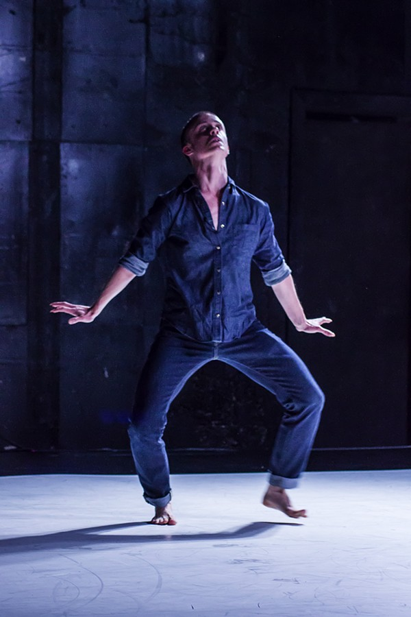Pol Pi in Ecce  (Homo),  part of the Between Gestures festival of contemporary dance, 10/24-11/2