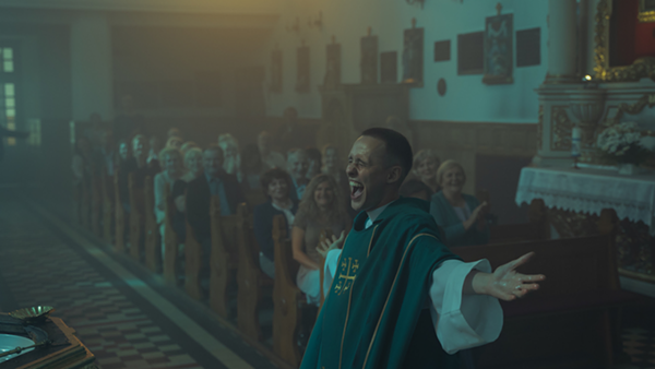 This week you can stream Corpus Christi as part of Gene Siskel's Film Center From Your Sofa.