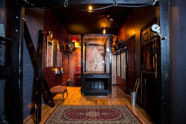 Lady Sophia Chase's Chicago Dungeon Rentals started emptying out in March and have stayed that way for the last two months.