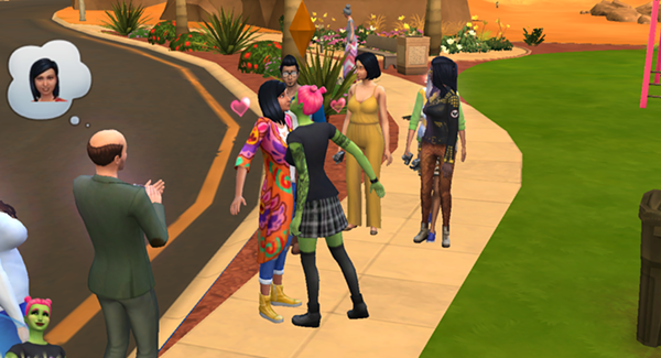 """""""On Sims, I could—and still can—live out my queer fantasies. There were no rules for me and my Sims. We could live happily, freely, and gayly."""""""