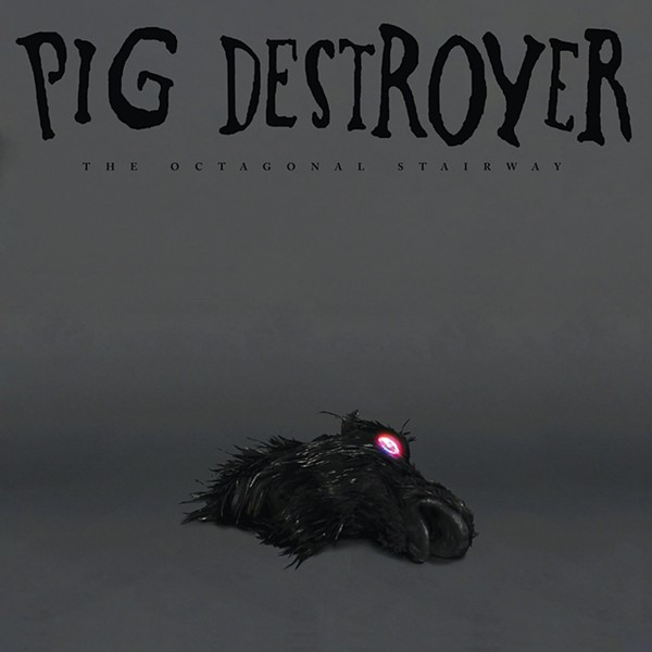 The cover of Pig Destroyer's album The Octagonal Stairway.