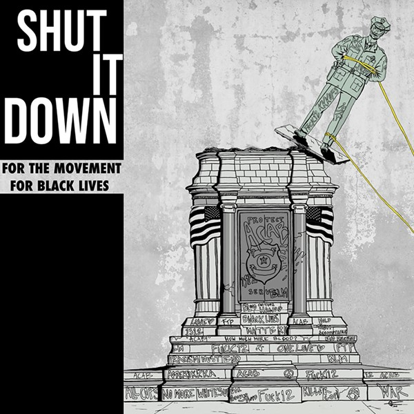 The cover of the new compilation Shut it Down.