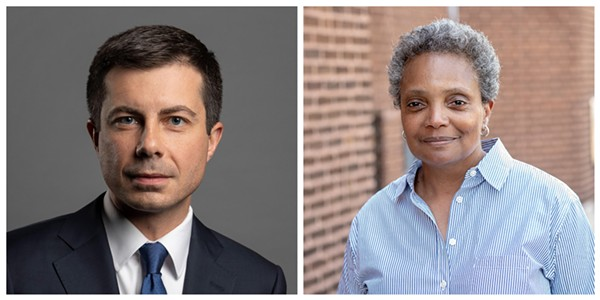 """Buttigieg and Lightfoot will discuss """"trust and distrust in this turbulent moment for American democracy,"""" according to the Chicago Humanities Festival website."""