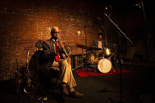 Roscoe Mitchell and Mike Reed