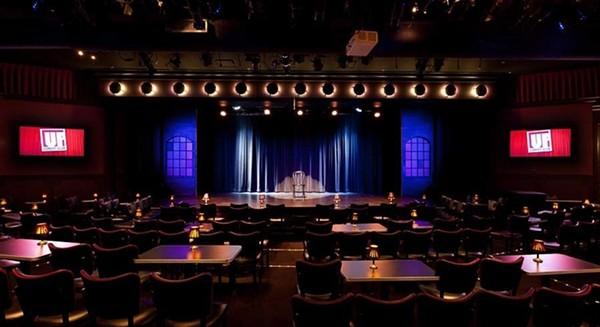 The stage of UP Comedy Club at Second City