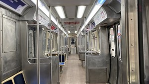 Before 2020, an empty CTA car was an uncommon sight. - FLICKR/RAED MANSOUR