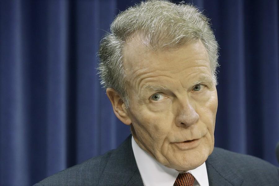 Michael Madigan, speaker of the Illinois house, says you can take your FOIA requests elsewhere. - AP PHOTO/SETH PERLMAN