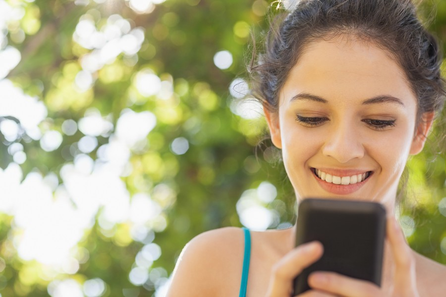 """""""My phone is my favorite person."""" - THINKSTOCK"""