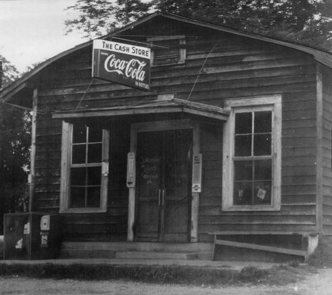 The Cash Store, scene of the shooting