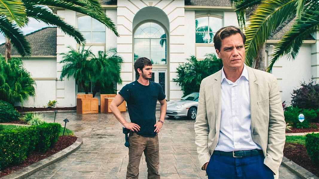 Andrew Garfield and Michael Shannon in Rahmin Bahrani's 99 Homes