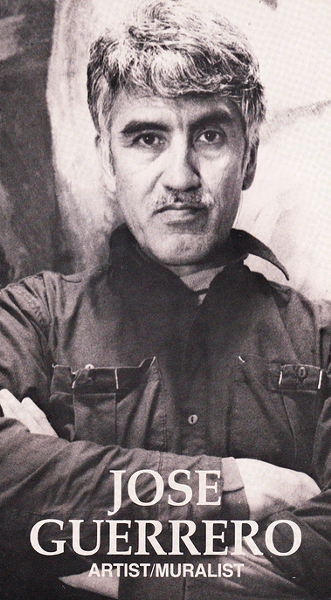 Guerrero in a self-published brochure from the early 90s - (ISAURA GONZALEZ)