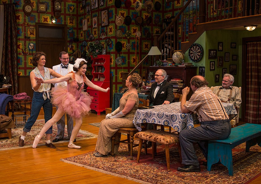 Northlight Theatre's You Can't Take It With You - MICHAEL BROSILOW
