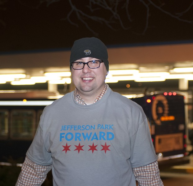 Jefferson Park Forward founder Ryan Richter - ANDREA BAUER