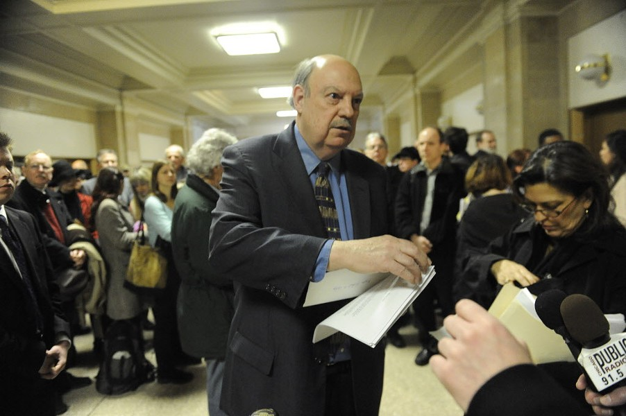 Former 44th Ward alderman Dick Simpson - AL PODGORSKI/SUN-TIMES