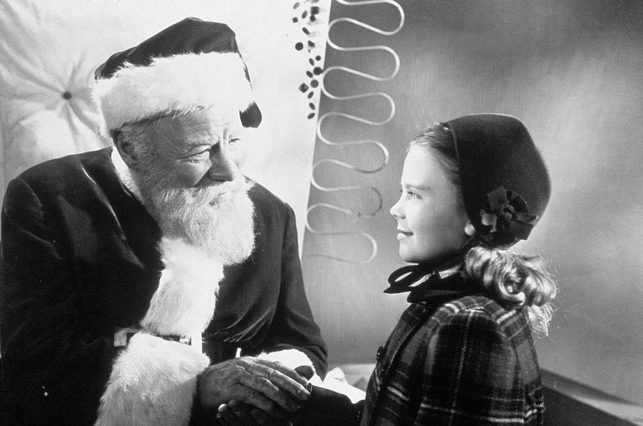 As we learn from watching Miracle on 34th Street, Santa knows everything. - AP PHOTO/FOX HOME ENTERTAINMENT