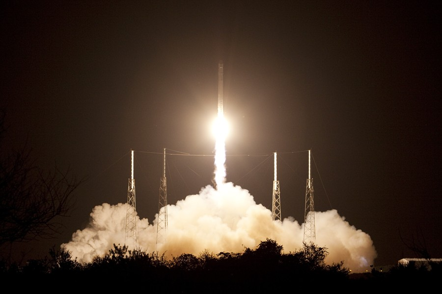 One giant leap for SpaceX - JIM GROSSMANN
