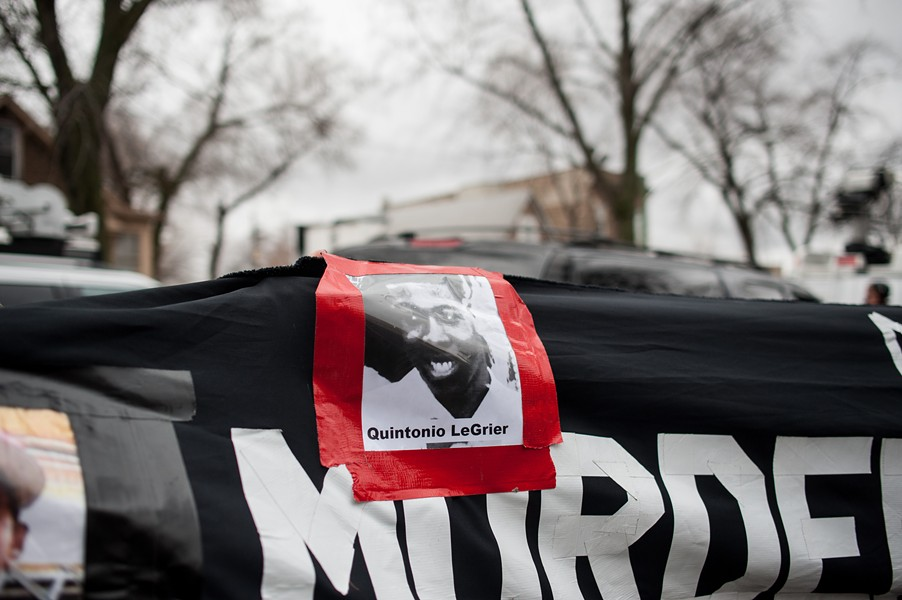 """Police shot and killed Quintonio LeGrier on December 26 while the 19-year-old was in the midst of an """"emotional problem."""" - WILLIAM CAMARGO/CITY BUREAU"""