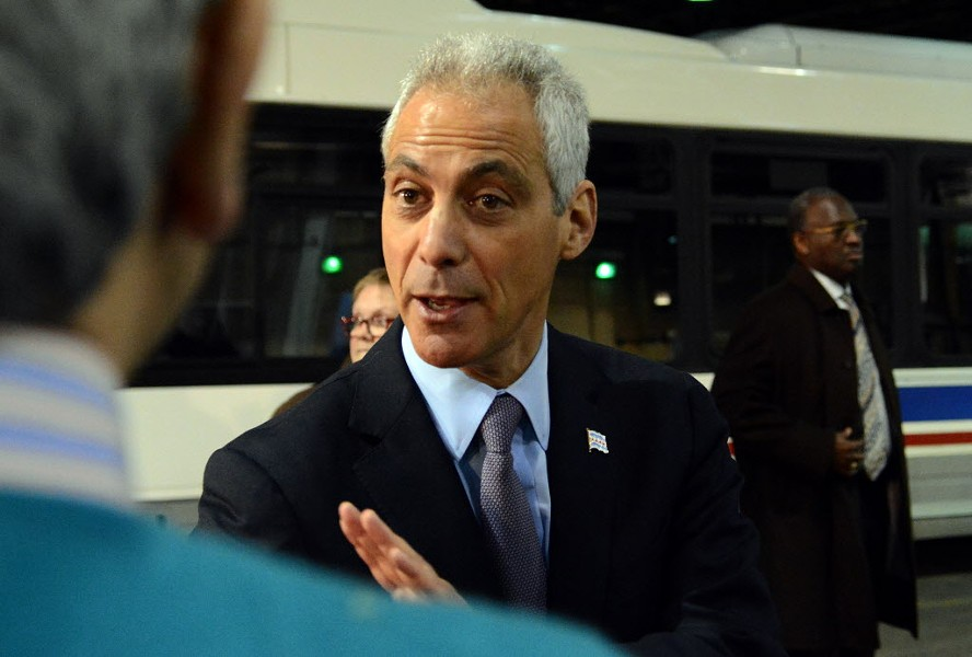 The Tribune backtracks on its previous endorsements of Mayor Rahm Emanuel. - BRIAN JACKSON/SUN-TIMES