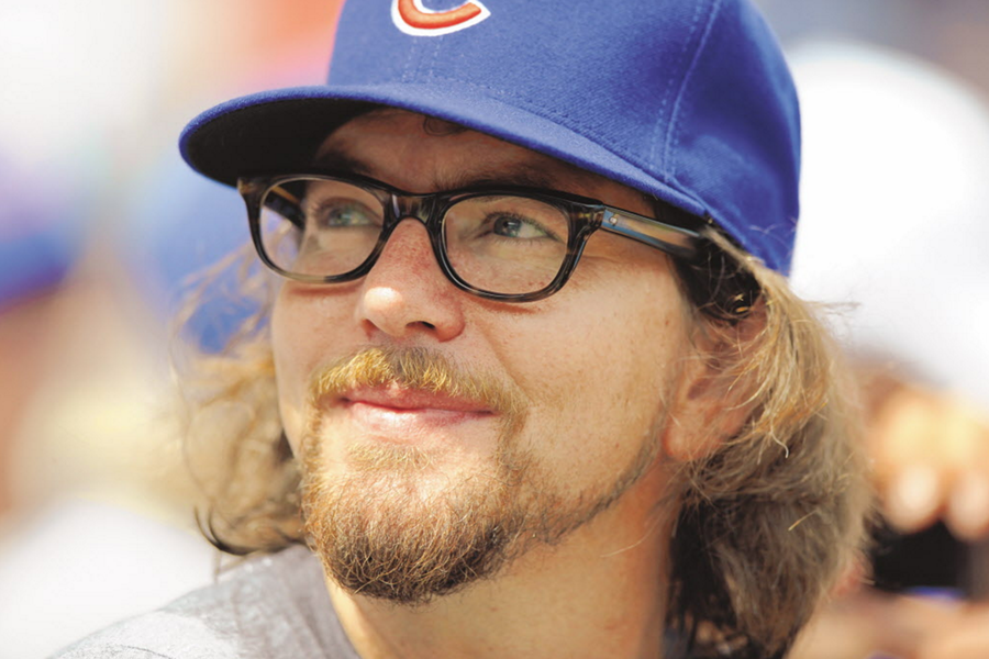 Cubs Fan Eddie Vedder will bring Pearl Jam back to Wrigley Field this summer. - RICHARD A. CHAPMAN/SUN-TIMES