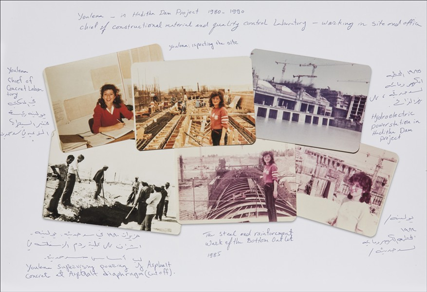 Youlena Zaia's photos of the Haditha Dam in the 1980s - JIM LOMMASSON