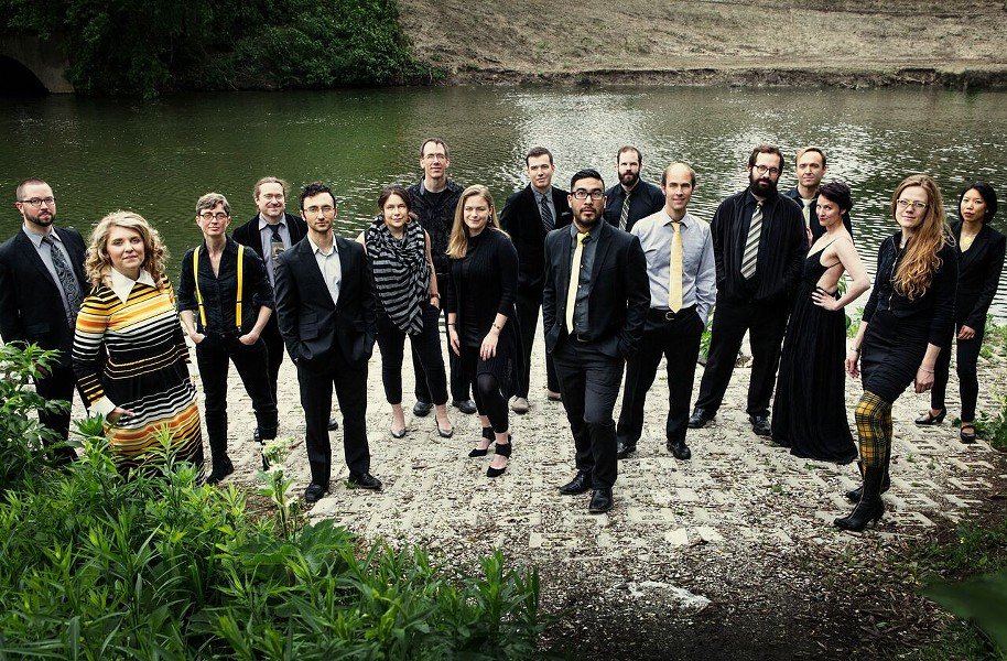 Ensemble dal Niente closes the Frequency Festival on Sunday at Constellation. - DREW REYNOLDS