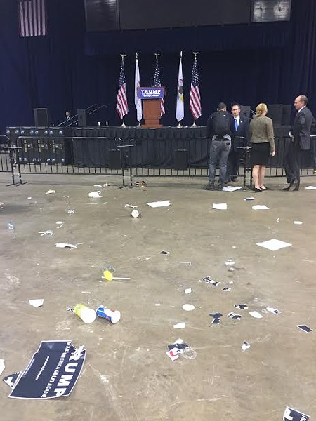 The Trump rally's aftermath - RYAN SMITH