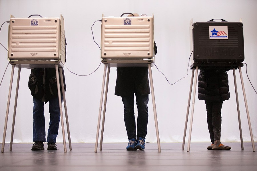 The biggest voting gap in Chicago in last Tuesday's primary was between blacks and Latinos. - SCOTT OLSON/GETTY IMAGES