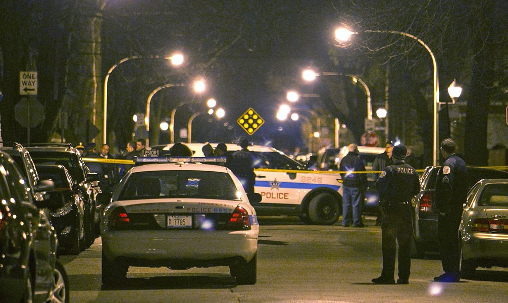 The proposed bill would overhaul police oversight in Chicago. - ASHLEE REZIN/SUN-TIMES VIA AP