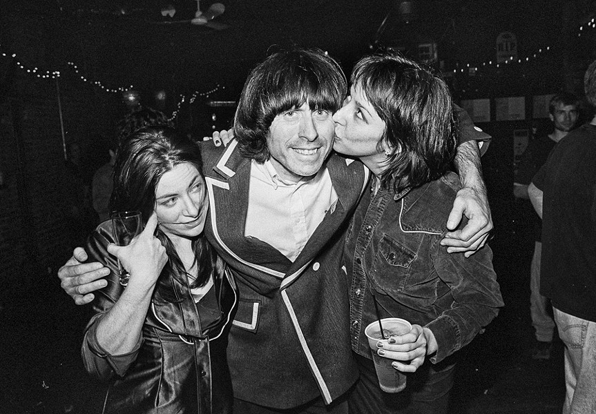 Beatle Bob and friends at the Empty Bottle on New Year's Eve 1999 - MARTY PEREZ