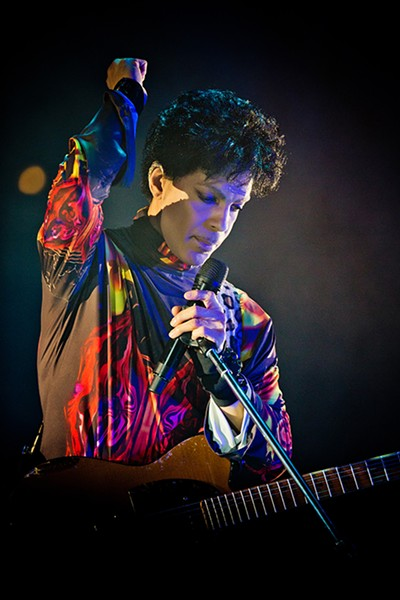 Prince at the United Center in 2012 - SUN-TIMES MEDIA