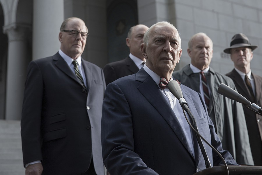 Frank Langella as Sen. Richard Russell of Georgia in All the Way.