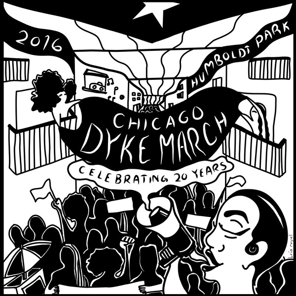 A flier advertising this year's march - BRIA ROYAL